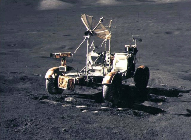 31 Luglio 1971  la prima guida lunare