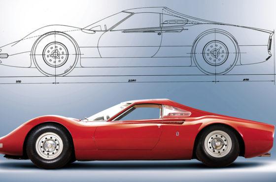 """Le vetture del  """"Brand """" , Ferrari Dino"""