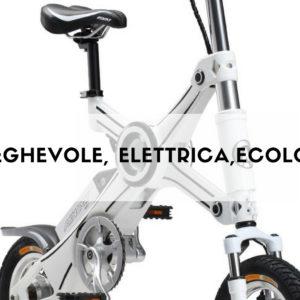 XO è una E-Bike pieghevole a pedala assistita