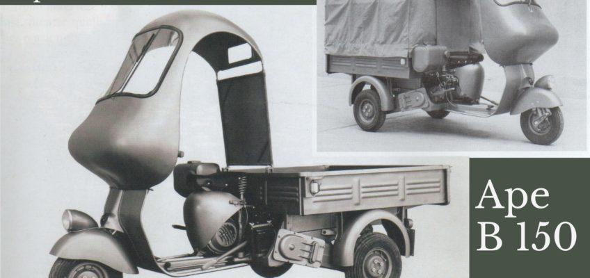 Ape B150  la prima rivoluzione del motofurgone