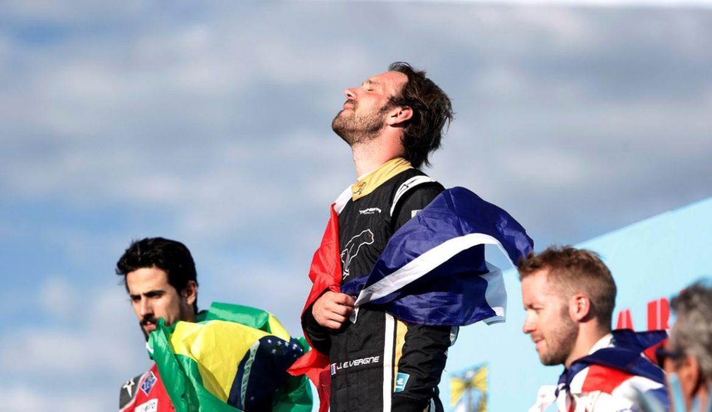 Seconda vittoria stagionale del francese Vergne, sul circuito di Punta del Este.