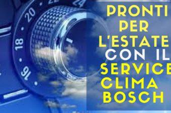 Pronti per l'estate con il Servizio Climatizzazione Bosch