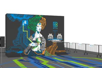 "La ""Rivoluzione BluE"" al Design Week"