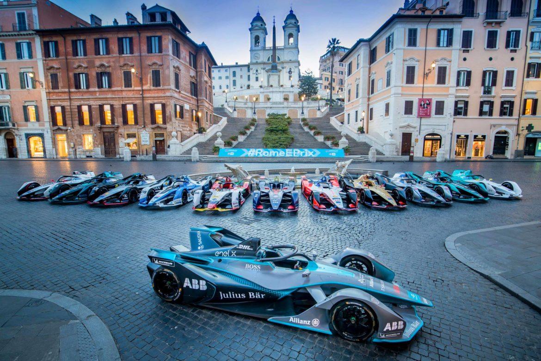 Mitch Evans del team Jaguar vince a Roma.