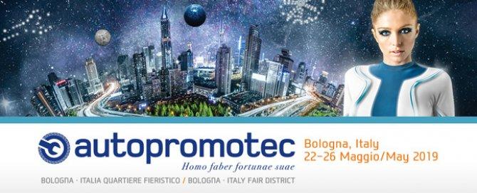 28esimo Autopromotec, Bologna 22 – 26 Maggio 2019